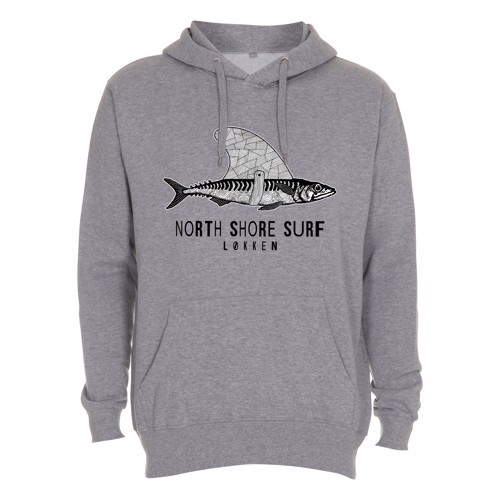 North Shore Surf Logo Kids Hoodie
