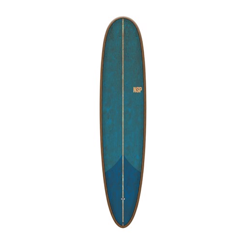"NSP Coco Hooligan 8'4"" Flax Tail Dip Blue Surfboard"