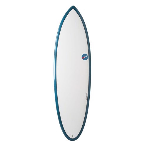 "NSP Elements Hybrid 6'2"" Blue Shortboard"