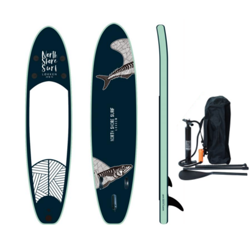 North Shore Surf Allround SUP Board - Komplet Pakke