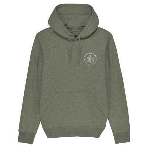 North Shore Surf Surfboard Logo Hoodie