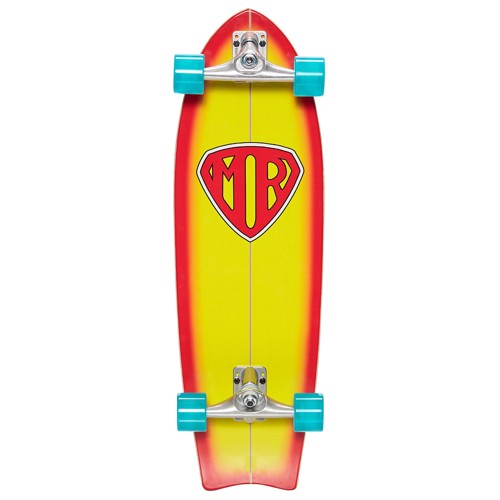 Quiksilver MR Super Surf Skateboard