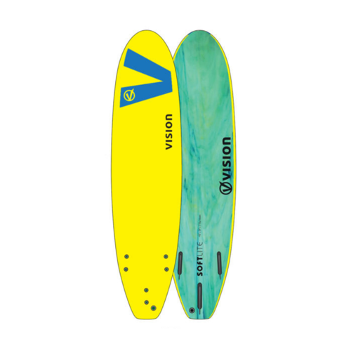 "Vision Softlite 5'6"" Swallow Tail Surfboard"