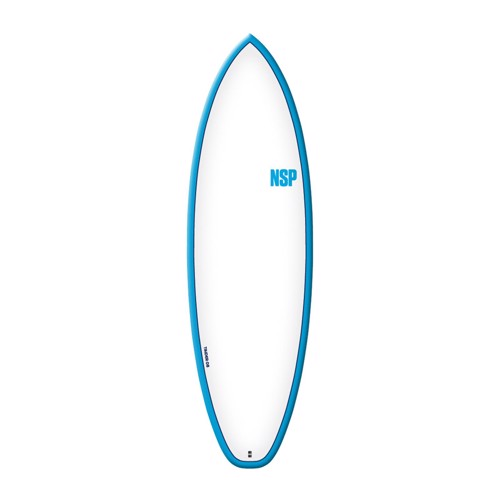 NSP Elements HDT Tinder-D8 6'4 Blue FTU Surfboard