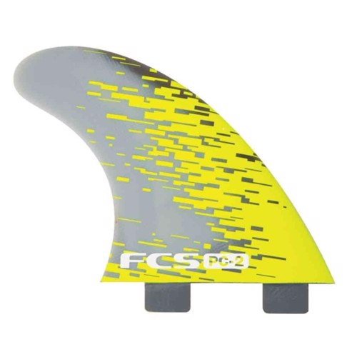 FCS PC-2 X-Small Smoke Tri Fins